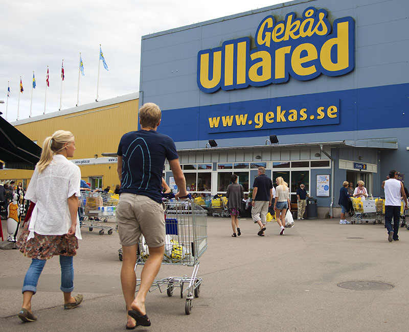 Gekås Ullared 2 CC Fotograf: Håkan Dahlström